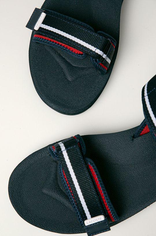 Lacoste - Sandale Surga Gamba: Material sintetic, Material textil Interiorul: Material sintetic, Material textil Talpa: Material sintetic