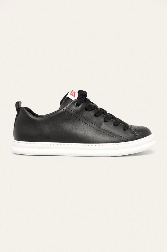 černá Camper - Kožené boty Runner Four Pánský