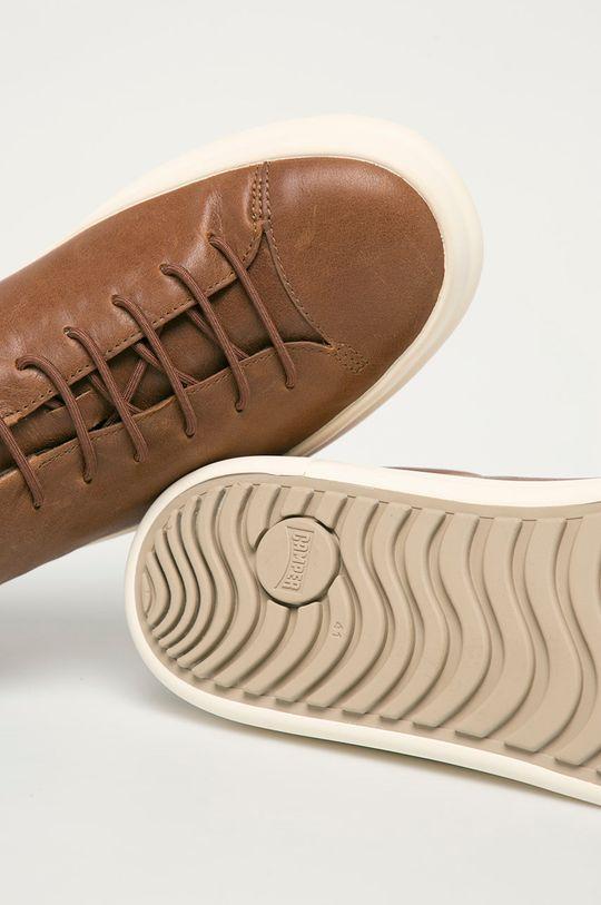 hnedá Camper - Kožená obuv Chasis Sport