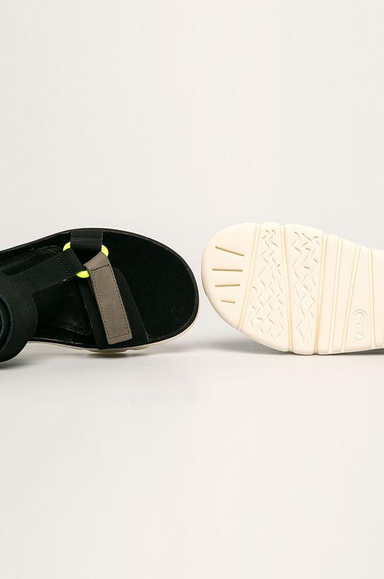 negru Camper - Sandale de piele Oruga
