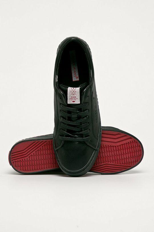 fekete Cross Jeans - Sportcipő