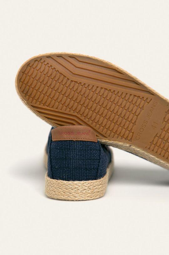 Cross Jeans - Espadrilky  Zvršok: Textil Vnútro: Textil Podrážka: Syntetická látka