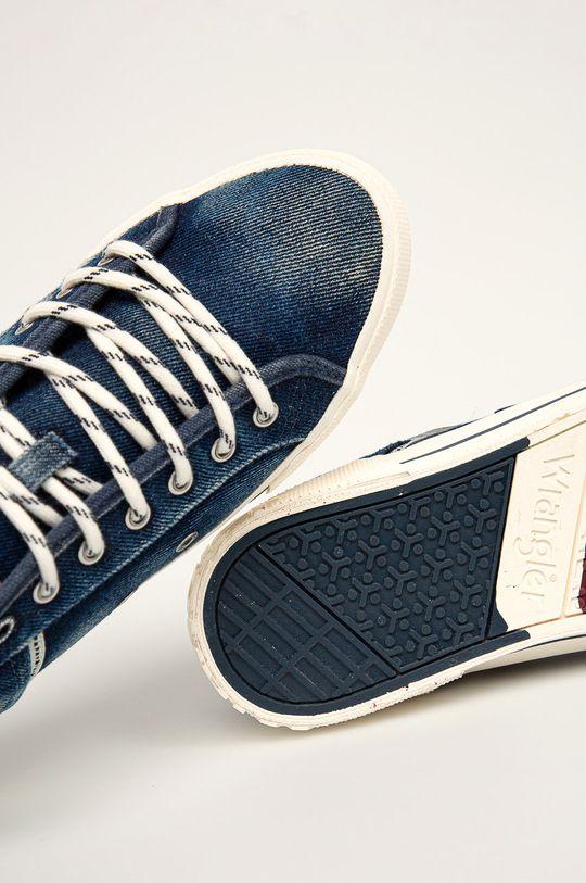 oceľová modrá Wrangler - Tenisky