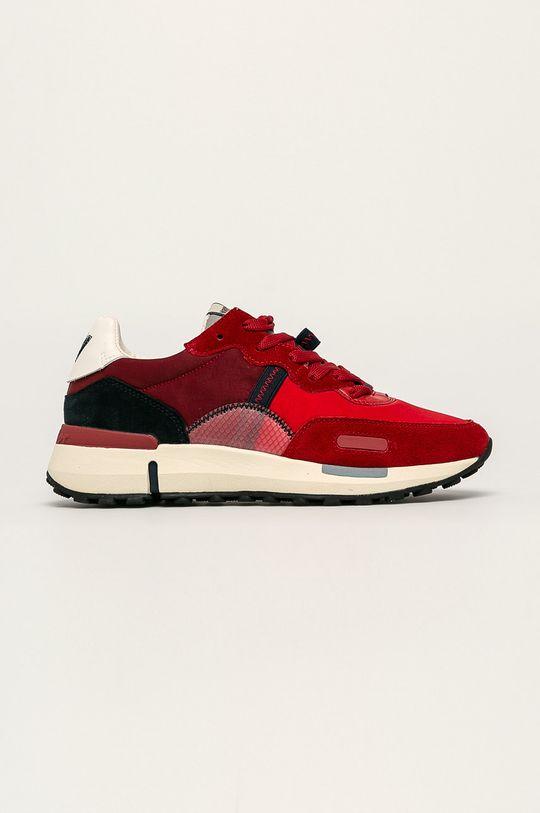 červená Wrangler - Topánky Pánsky