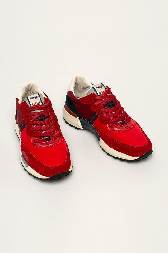 Wrangler - Topánky červená