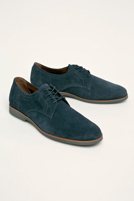 Aldo - Pantofi de piele Dautovo bleumarin