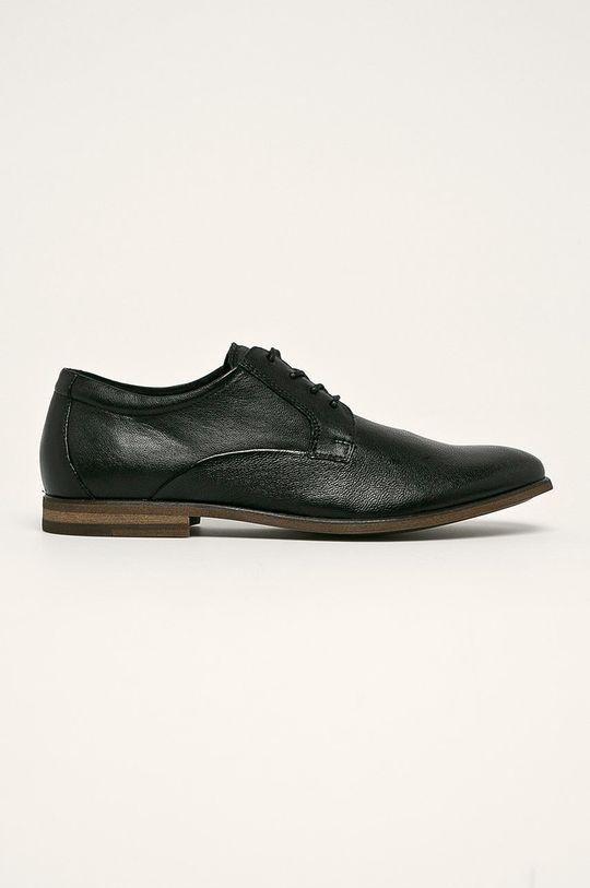 negru Aldo - Pantofi de piele Bromham De bărbați