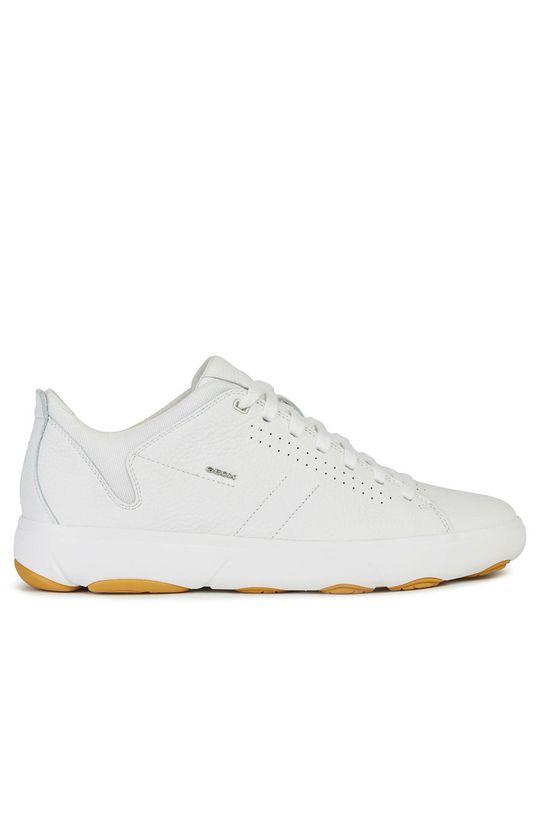 bílá Geox - Kožené boty Pánský
