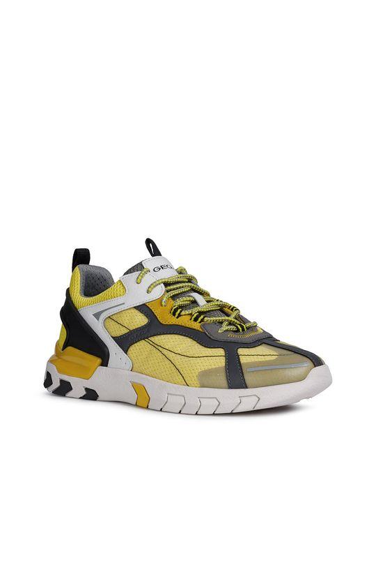 Geox - Pantofi galben