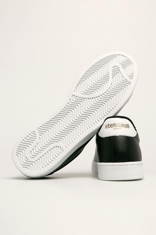 černá Roberto Cavalli Sport - Kožené boty