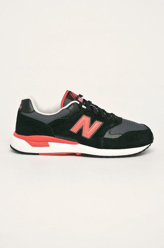 čierna New Balance - Topánky ML570BNB Pánsky