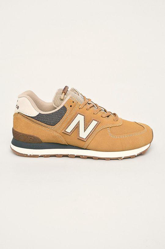 horčicová New Balance - Topánky ML574SOI Pánsky