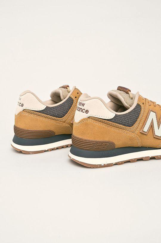 New Balance - Topánky ML574SOI  Zvršok: Textil, Prírodná koža Vnútro: Textil Podrážka: Syntetická látka