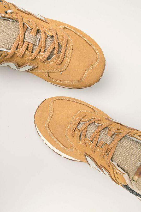 horčicová New Balance - Topánky ML574SOI