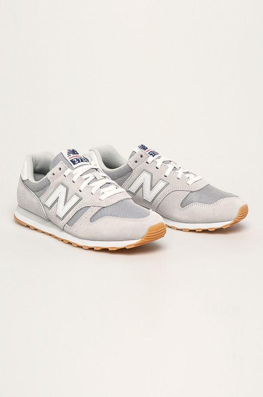 New Balance - Pantofi ML373DC2 gri deschis