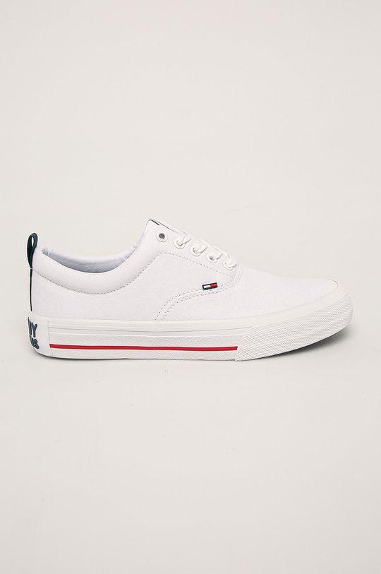 biały Tommy Jeans - Tenisówki Męski