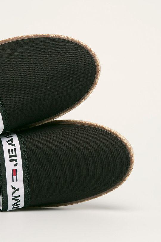 черен Tommy Jeans - Еспадрили