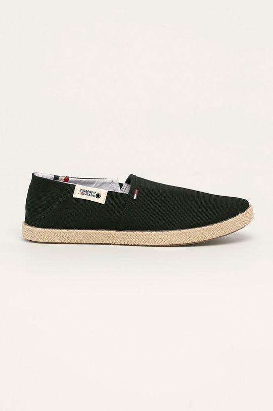 negru Tommy Jeans - Espadrile De bărbați