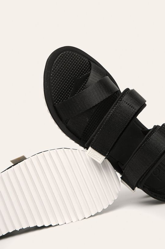 Tommy Jeans - Sandały Cholewka: Materiał tekstylny, Wnętrze: Materiał syntetyczny, Materiał tekstylny, Podeszwa: Materiał syntetyczny