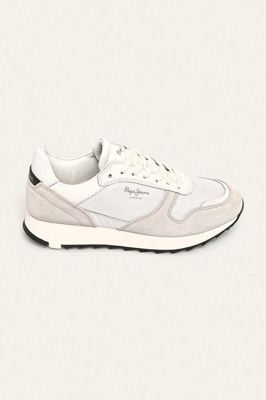alb Pepe Jeans - Pantofi Slab Basic De bărbați