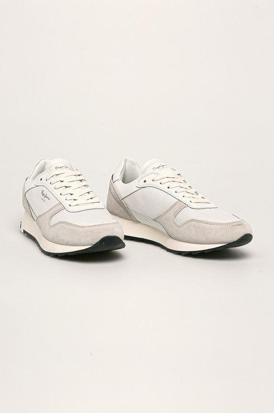 Pepe Jeans - Pantofi Slab Basic alb