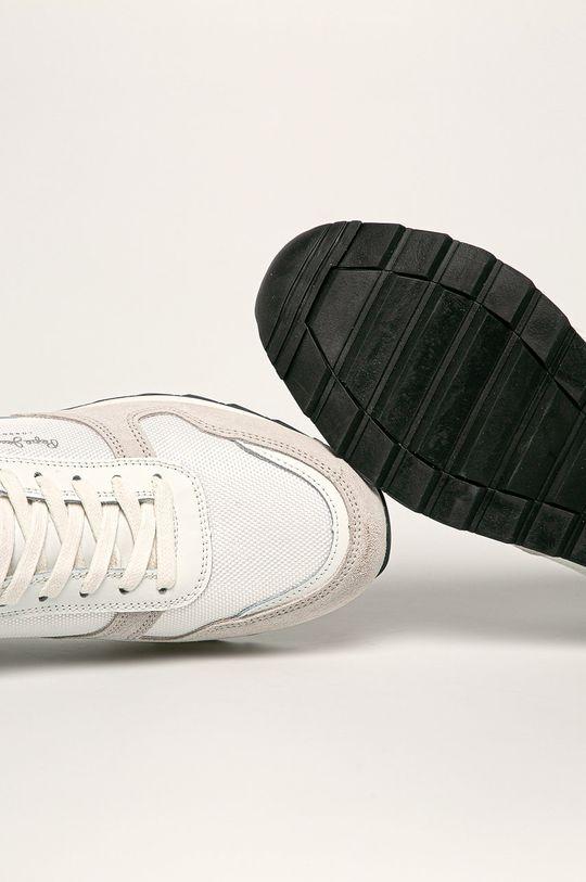alb Pepe Jeans - Pantofi Slab Basic
