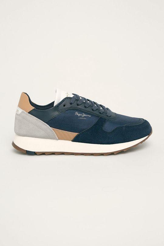bleumarin Pepe Jeans - Pantofi Slab Basic De bărbați