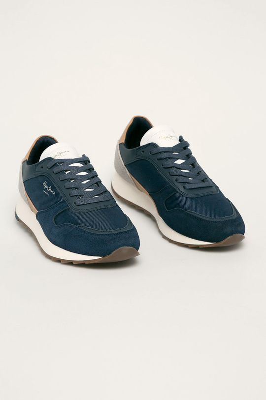 Pepe Jeans - Pantofi Slab Basic bleumarin