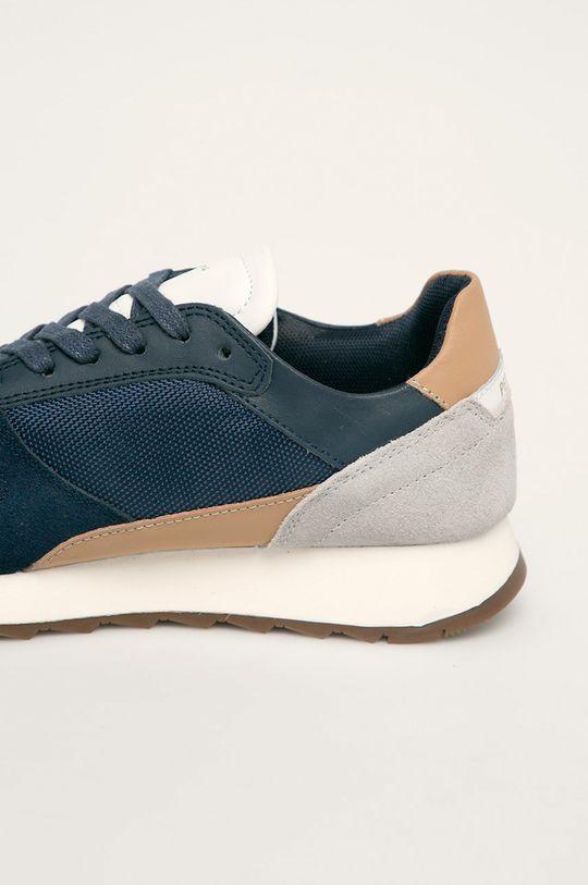 Pepe Jeans - Pantofi Slab Basic Gamba: Piele naturala, Material textil Interiorul: Material sintetic, Material textil Talpa: Material sintetic