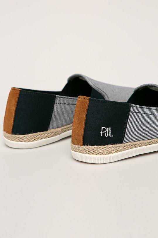 Pepe Jeans - Tenisky Maui Slip On Twill Svršek: Textilní materiál Vnitřek: Textilní materiál Podrážka: Umělá hmota