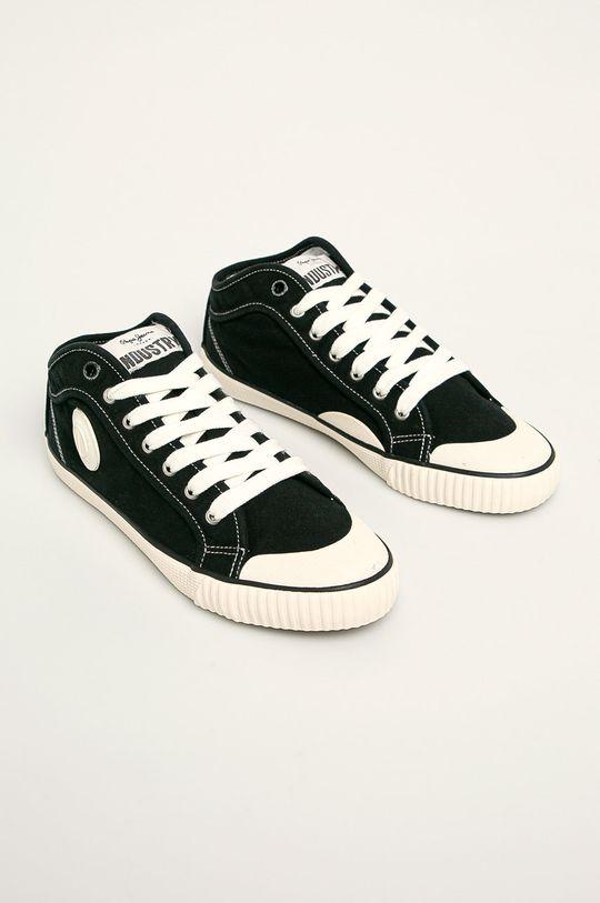 Pepe Jeans - Tenisi Industry Classic negru