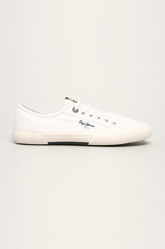biały Pepe Jeans - Tenisówki Aberman Smart Męski