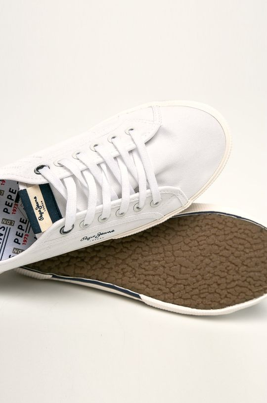 biały Pepe Jeans - Tenisówki Aberman Smart