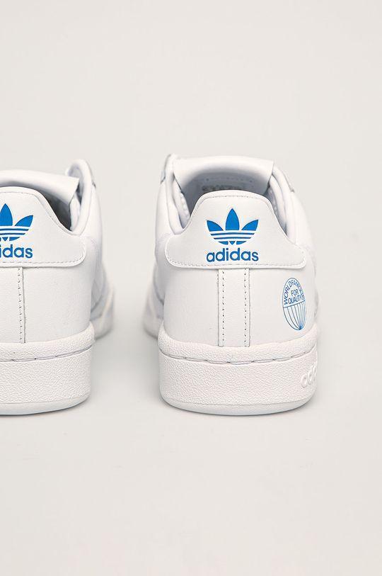 biela adidas Originals - Kožená obuv Continental 80
