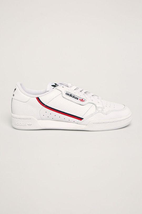 bílá adidas Originals - Boty Continental 80 Pánský