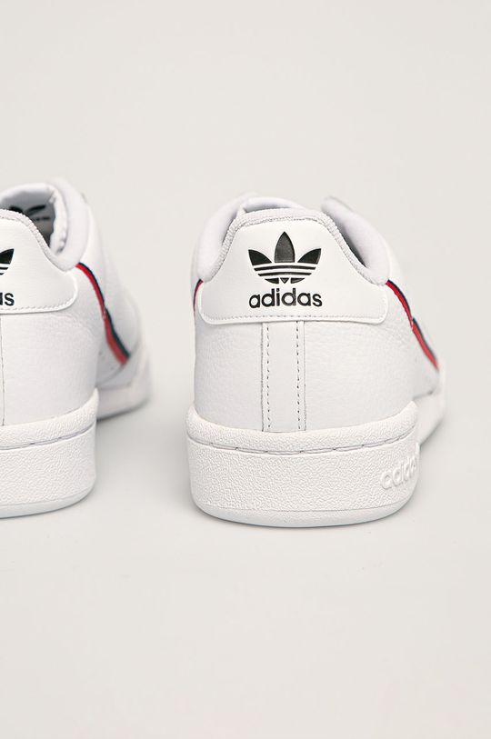 bílá adidas Originals - Boty Continental 80