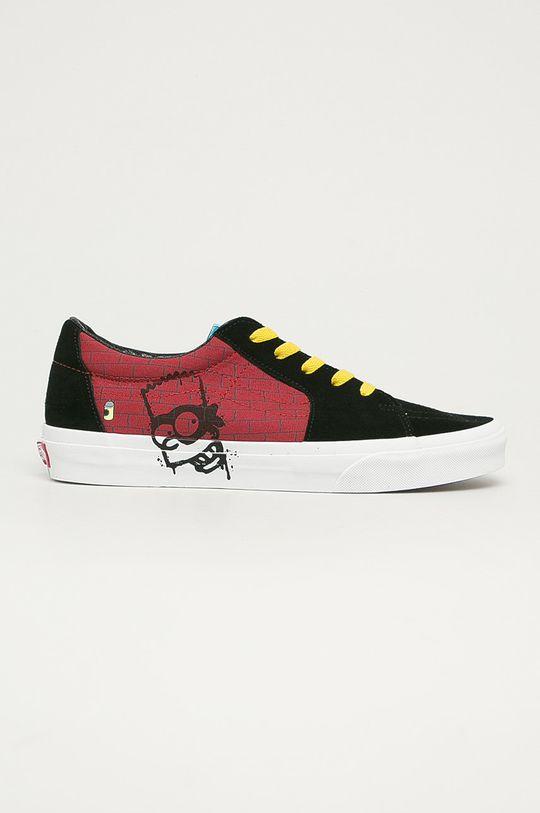 čierna Vans - Tenisky x Simpsons Pánsky