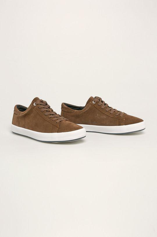 Camper - Kožené boty Andratx hnědá