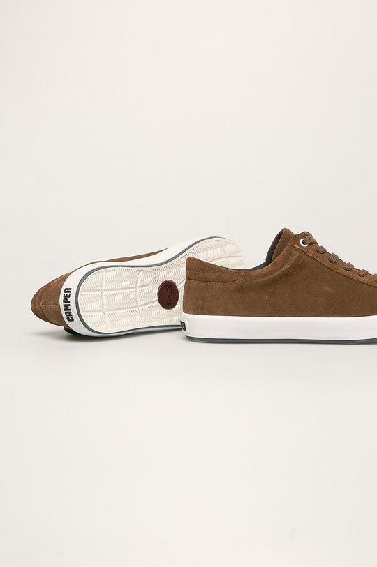 Camper - Kožené boty Andratx  Svršek: Semišová kůže Vnitřek: Textilní materiál Podrážka: Umělá hmota
