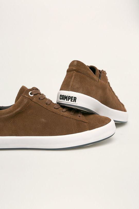 hnědá Camper - Kožené boty Andratx