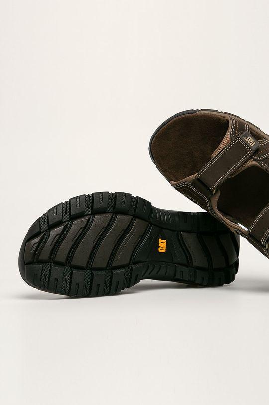 tmavě hnědá Caterpillar - Sandály