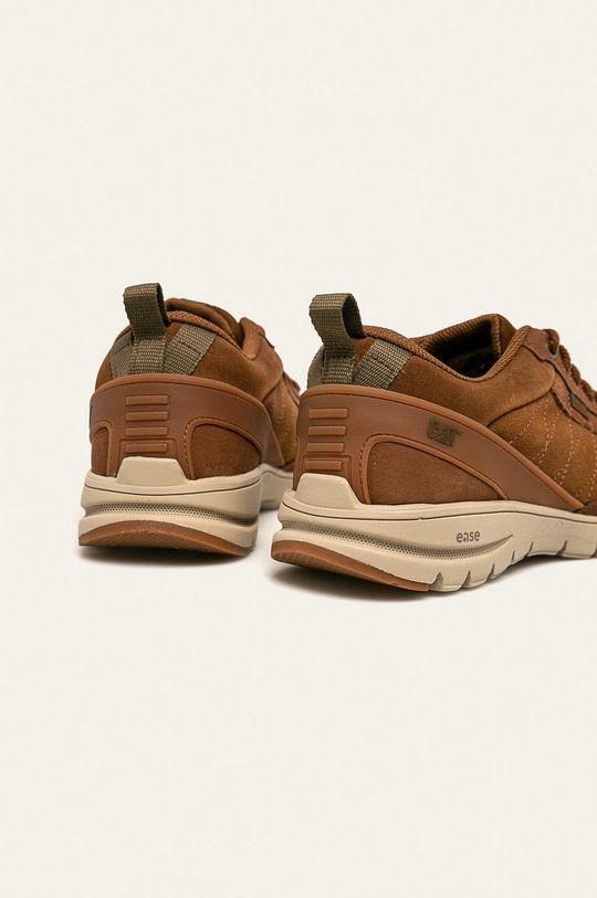 Caterpillar - Kožené boty Mythos  Svršek: Přírodní kůže Vnitřek: Textilní materiál Podrážka: Umělá hmota