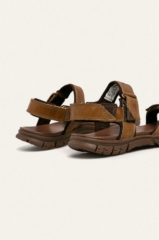 Caterpillar - Kožené sandály Brantley  Svršek: Přírodní kůže Vnitřek: Textilní materiál Podrážka: Umělá hmota