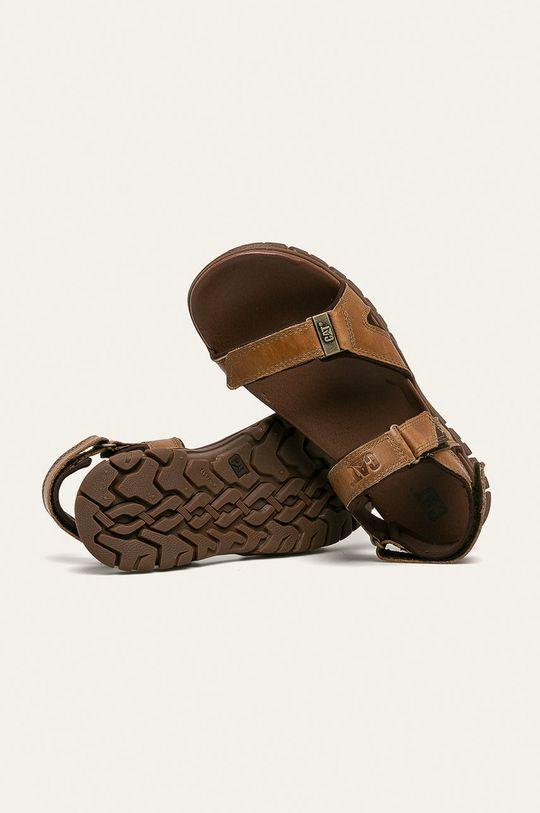 Caterpillar - Kožené sandály Brantley Pánský