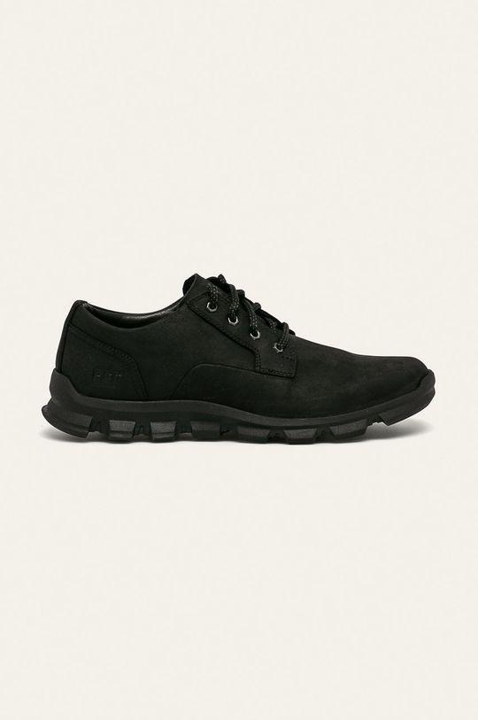 černá Caterpillar - Kožené boty Pánský