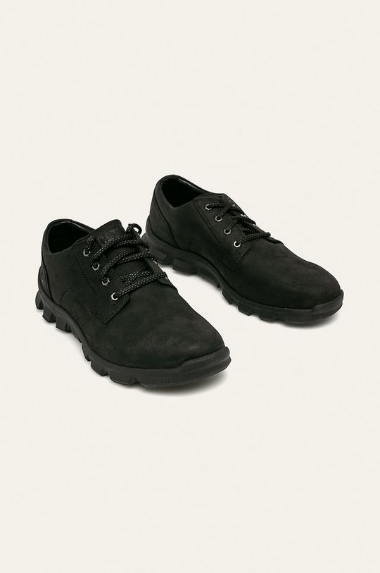 Caterpillar - Kožené boty černá
