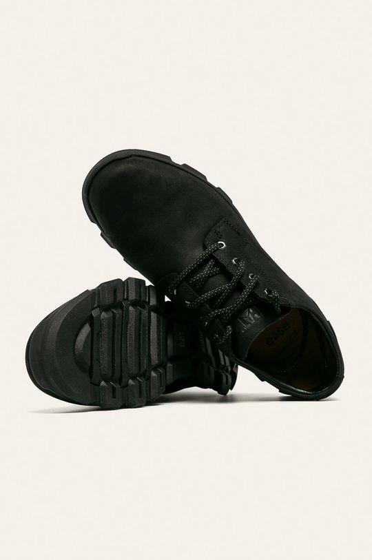 černá Caterpillar - Kožené boty