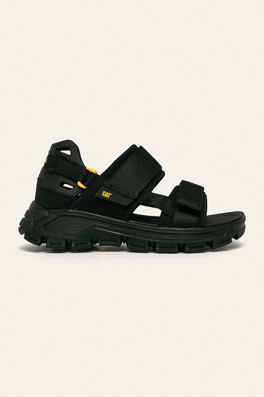 černá Caterpillar - Sandály Progressor Pánský