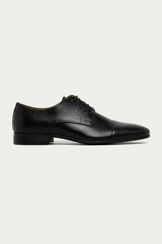 negru Aldo - Pantofi de piele Ancede De bărbați