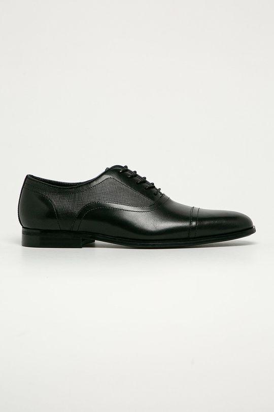 negru Aldo - Pantofi de piele Chilisien De bărbați
